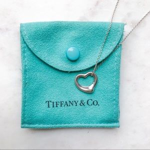 Tiffany & Co. Elsa Peretti Heart Pendant | 16 mm